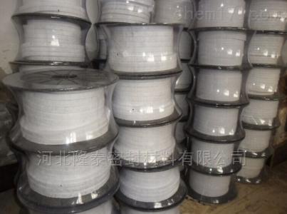 专业生产白四氟盘根 密封材料 防火材料