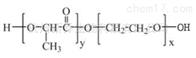 PLA聚合物PLA-PEG-OH MW:2000 5000三嵌段共聚物