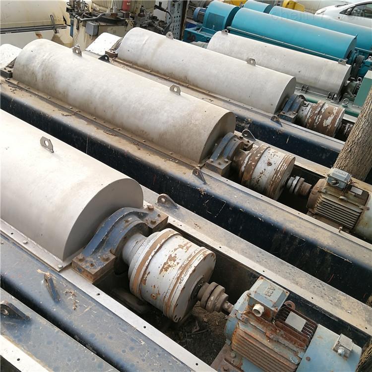 出售多台骨胶脱水用二手500螺旋卸料沉降离心机