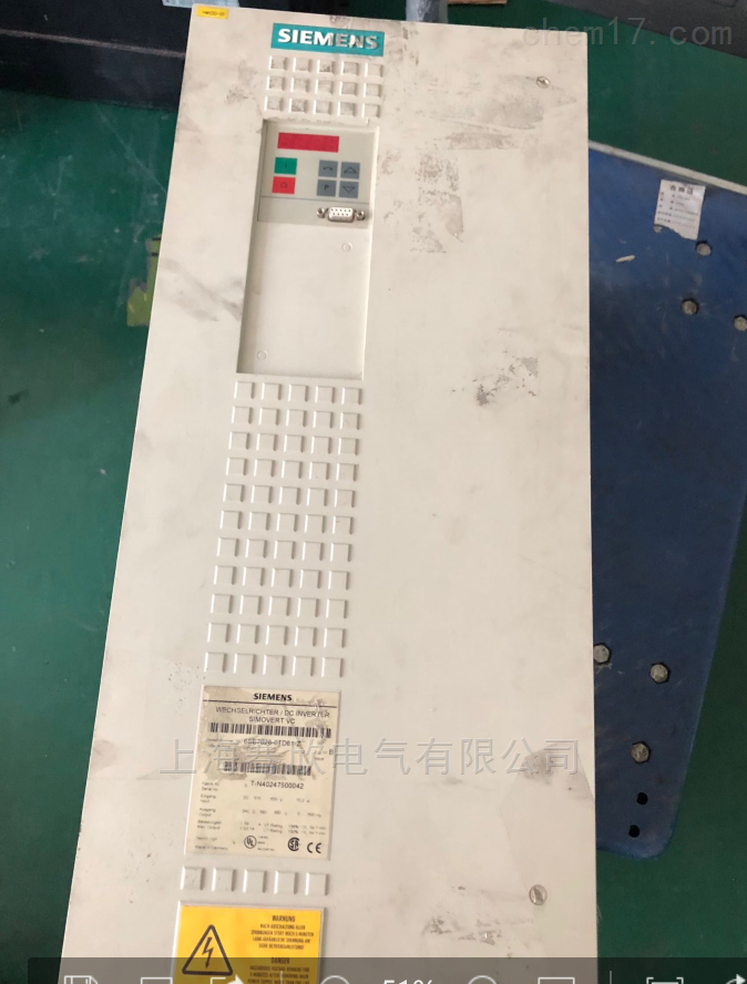 6SE70显示o008-西门子变频器报警当天修复
