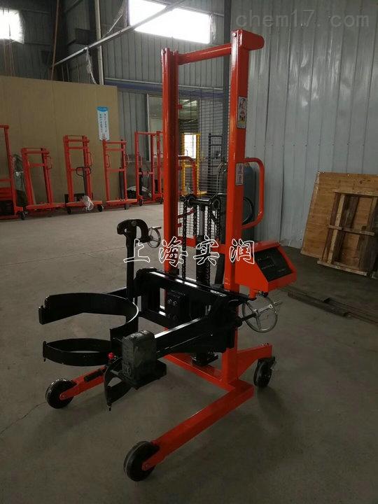 300kg倒桶电子称/精度100g圆桶翻转车电子秤