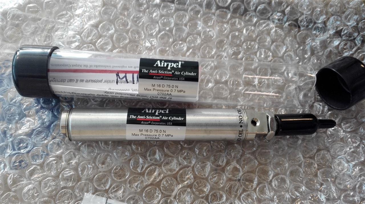 全新美国Airpel无阻力气缸实物到货