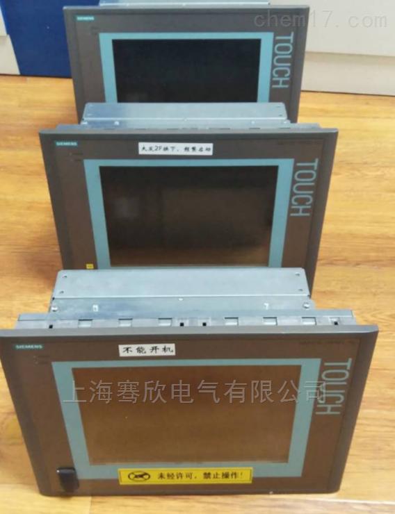 西门子电脑按键无反应-触摸失效检测维修