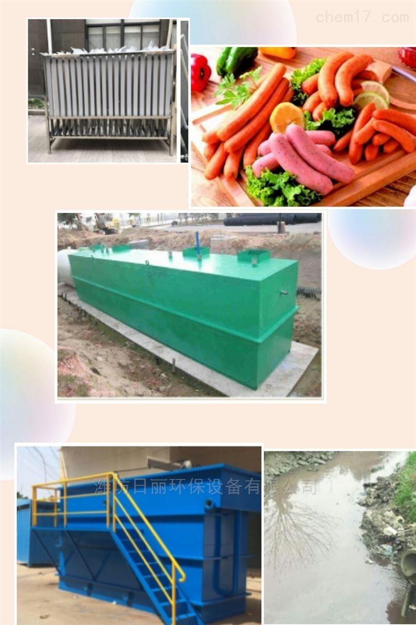 日照市肉制品深加工污水处理设备RL-WSZ-AAO