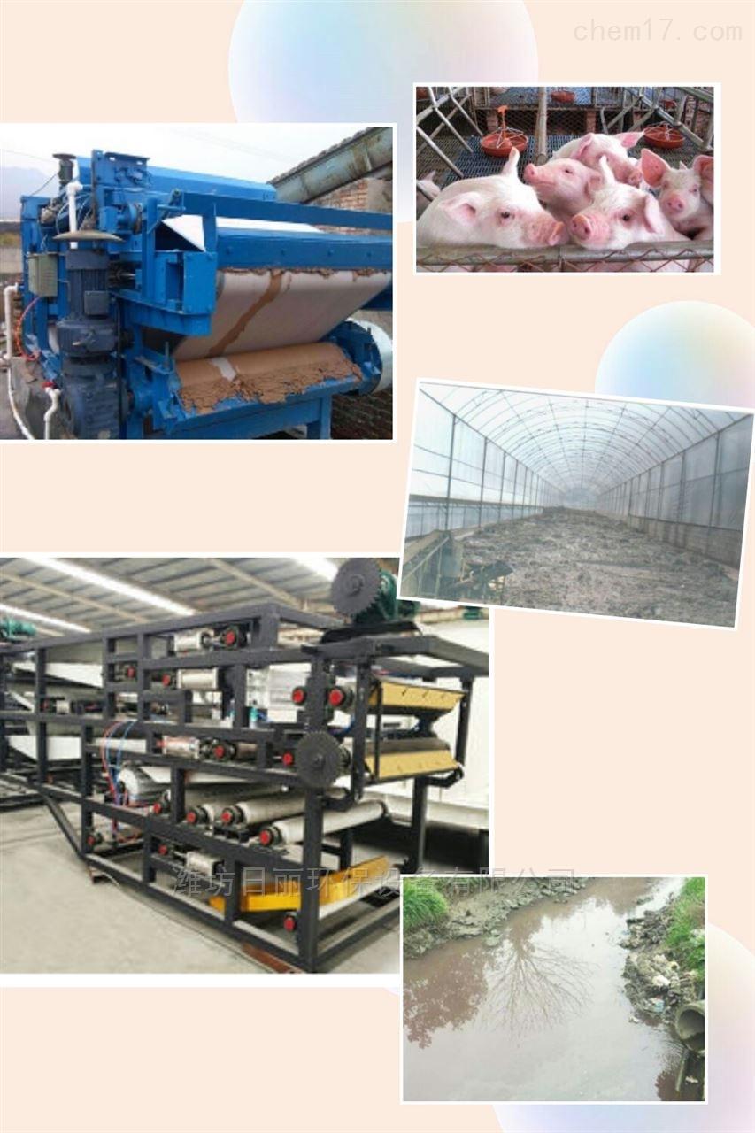 黑龙江省畜牧养殖污泥脱水设备RL带式压滤机
