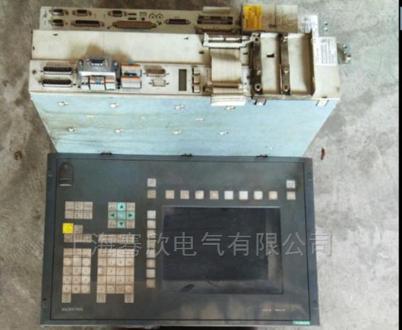 西门子PCU20黑屏无显示-系统十年维修技术