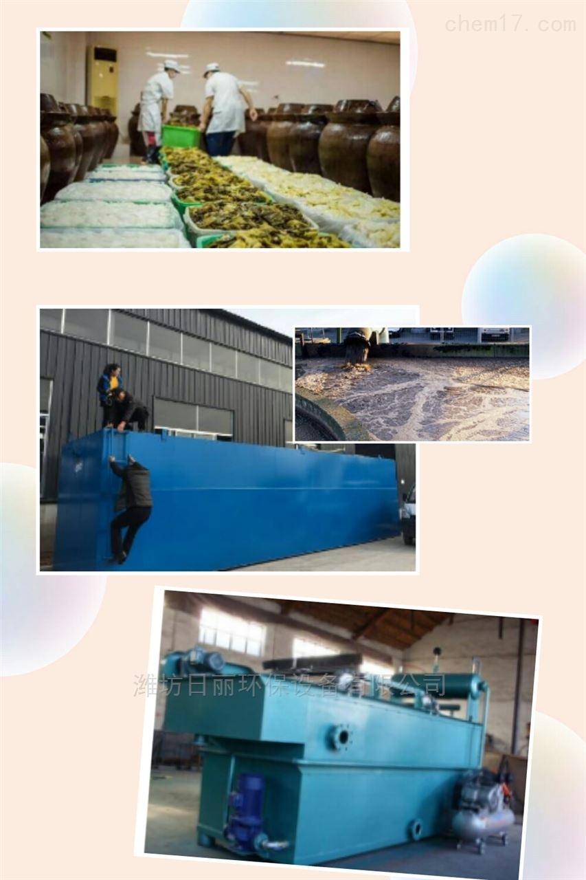 四川省泡菜污水处理设备RLWSZ-AAO一体化