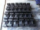 标准100公斤200公斤锁型铸铁砝码厂家