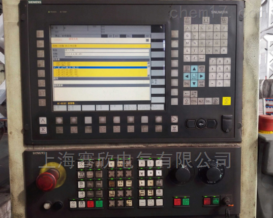 西门子840D启动屏幕花屏-上海系统维修中心