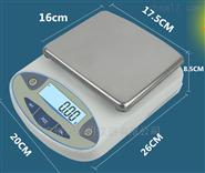上海4000克精度0.01克方盘电子天平