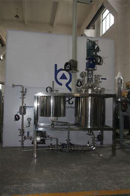 80L减压蒸馏反应釜 减压蒸馏系统 实验室反应釜