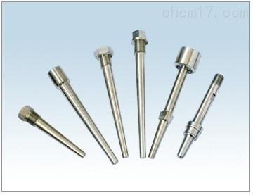 安装法兰套管与热电偶配套