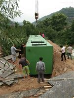 地埋式玻璃钢生活污水处理设备