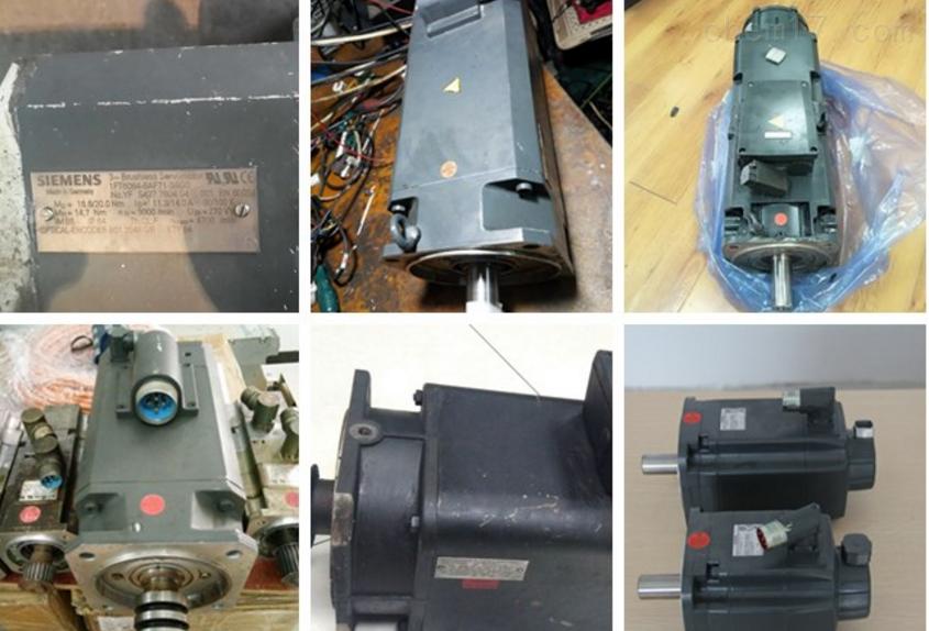 西门子伺服电机无编码器反馈修理