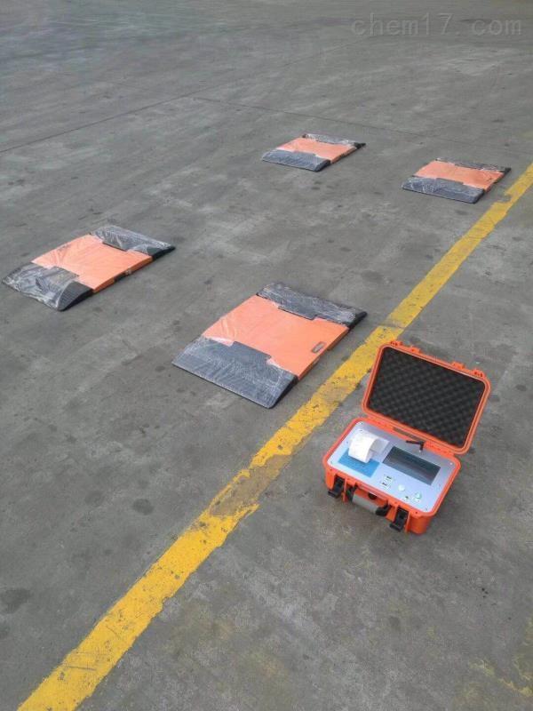 汽车厂10吨静态汽车称重仪 4块板轴重仪