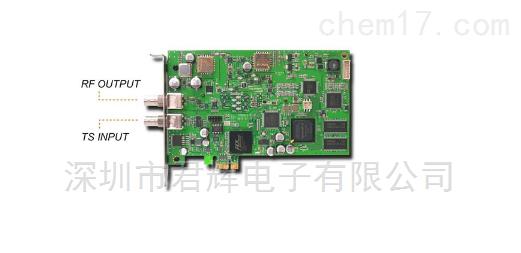 TVB598 PCIE全制式调制卡信号源监测