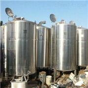 长期回收二手30立方白酒储罐