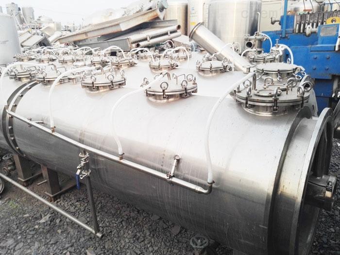 食品厂处理9成新二手管道式高效逆流提取机