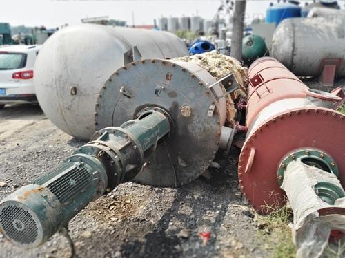 工厂转让14平方二手薄膜蒸发器价格实惠