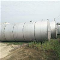 厂家闲置二手不锈钢储水罐处理
