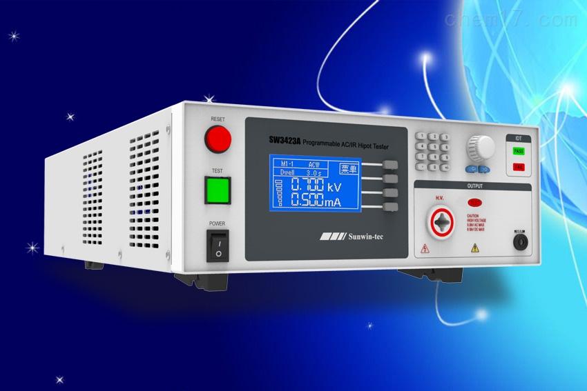 南京尚沄SW3423A绝缘耐压测试仪