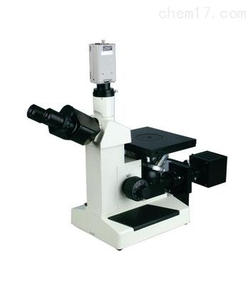 4XC-CCD北京上海郑州河南三目倒置金相显微镜