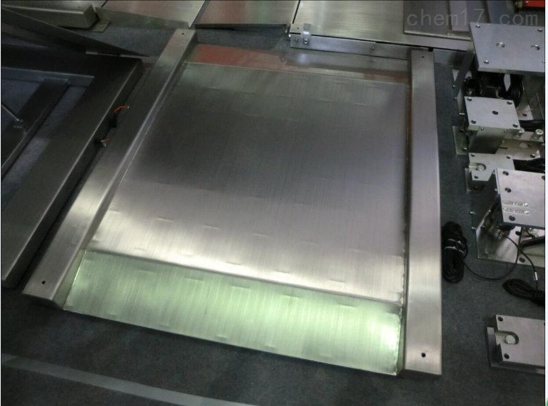 防锈地磅秤价格1吨不锈钢地磅称