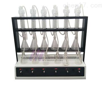 万用一体化蒸馏仪CYZL-6C简易同时萃取装置