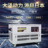 10kw静音汽油发电机带静音箱