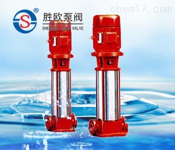 XBD-(I)型立式單吸多級管道式消防泵