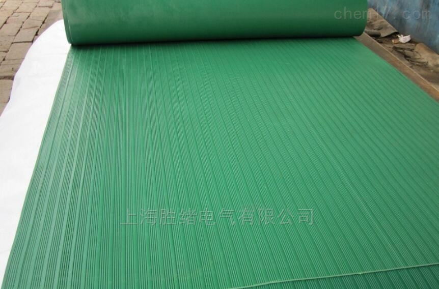 30KV绿色防滑橡胶绝缘垫