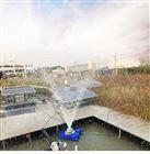 RSUN0.55-PQ太阳能光伏景观喷泉式水体河道曝气机
