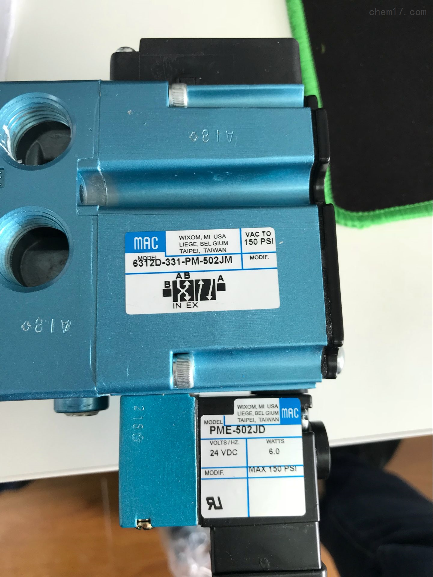 原裝正品美國MAC電磁閥36A-BOO-JDAD-1GD