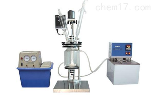 1L玻璃反应釜ZL-1L实验室小型反应釜