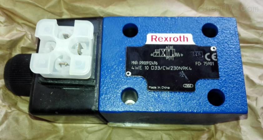Rexroth直动式方向滑阀原装正品