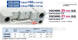 电磁阀 VQC4000/50005通电磁阀 VQC4000/5000