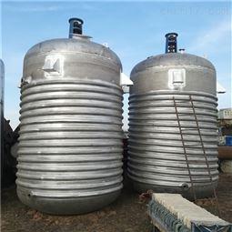 广西回收二手5吨3吨搪瓷反应釜
