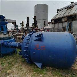 长期回收二手5立方搪瓷反应釜厂家