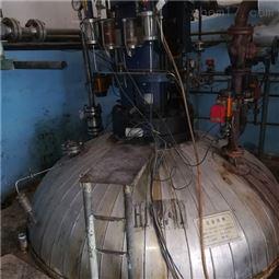 回收二手3吨5吨10吨不锈钢反应釜厂家