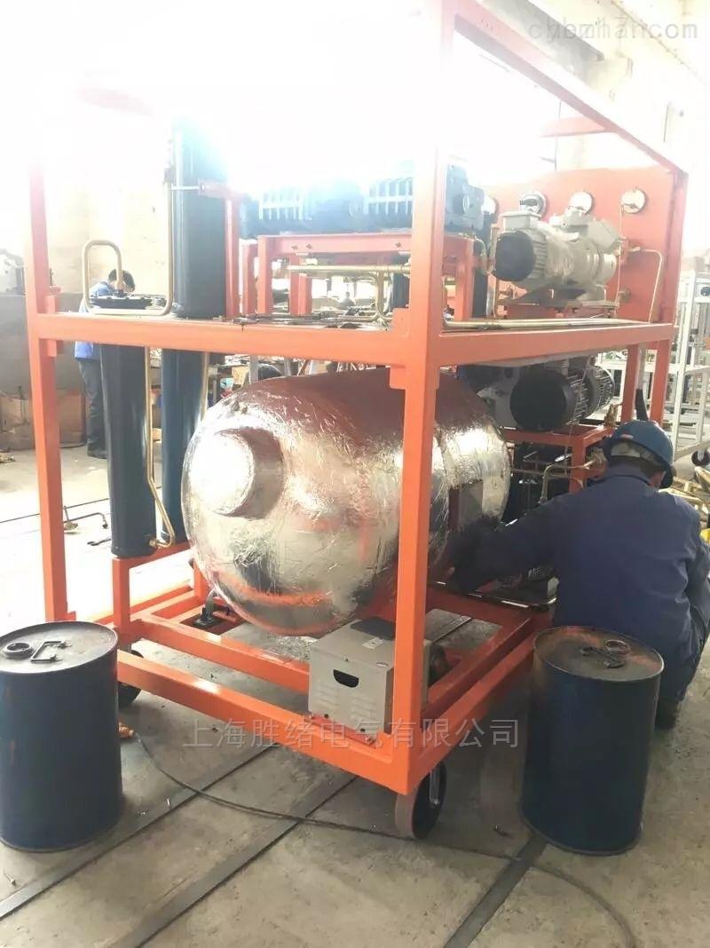 气体抽真空充气装置气体灭火装置
