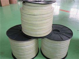 芳纶盘根厂家旋转泵耐磨损芳纶盘根规格齐全