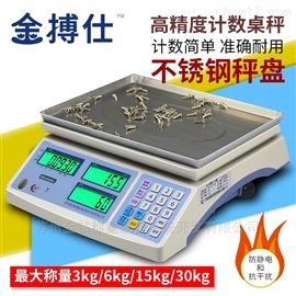 防靜電抗干擾30kg 1g計數桌秤