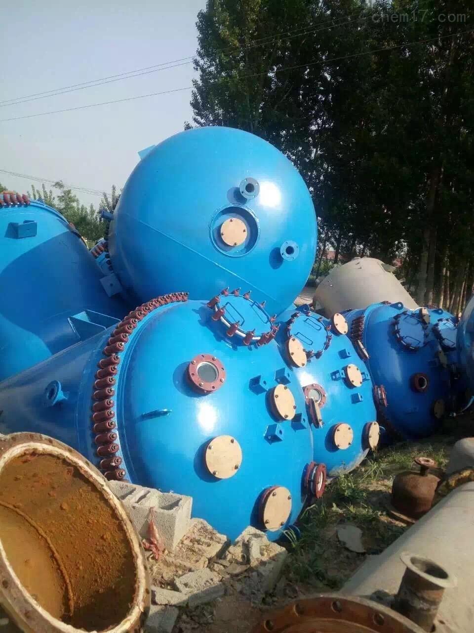二手15吨搪瓷反应釜回收二手15吨搪瓷反应釜金玉满堂