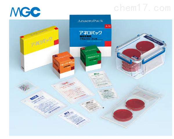 日本三菱MGC厌氧产气袋(D-06)