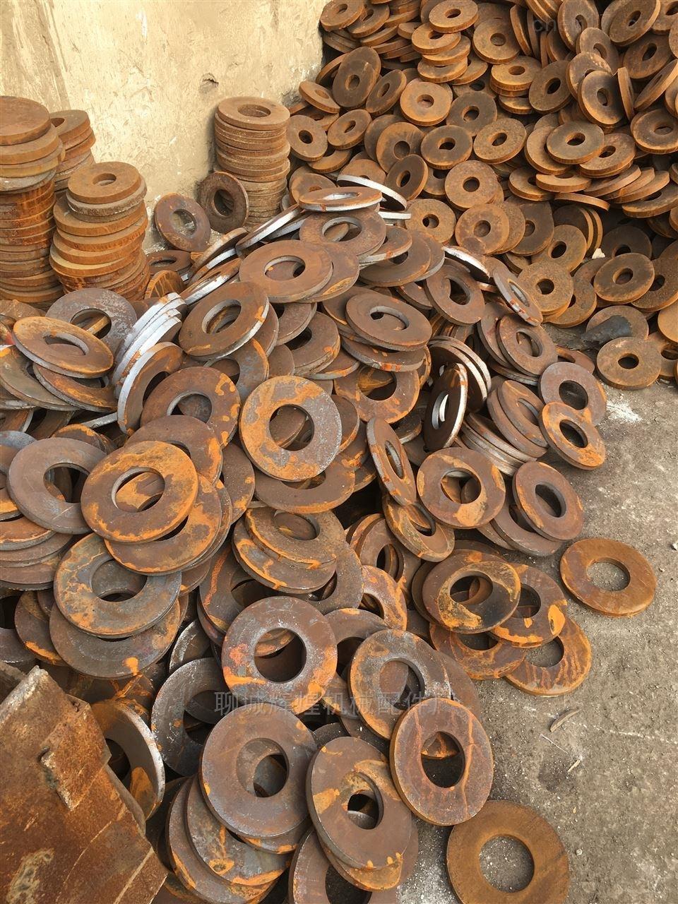 湖南法兰-铁板加工冲压圆片法兰毛坯山东聊城钢板法兰