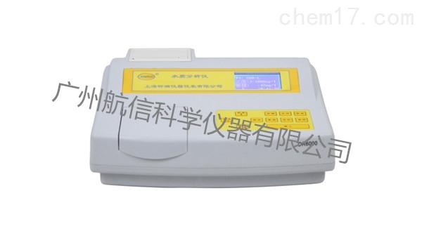 上海昕瑞DR6000A水质分析仪 COD/氨氮测定仪