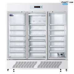 海尔三门透光型GSP药品保存箱8-20℃