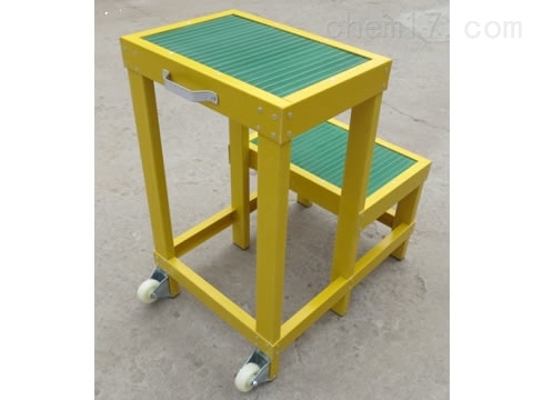 JYD-GD绝缘两层凳带轮子