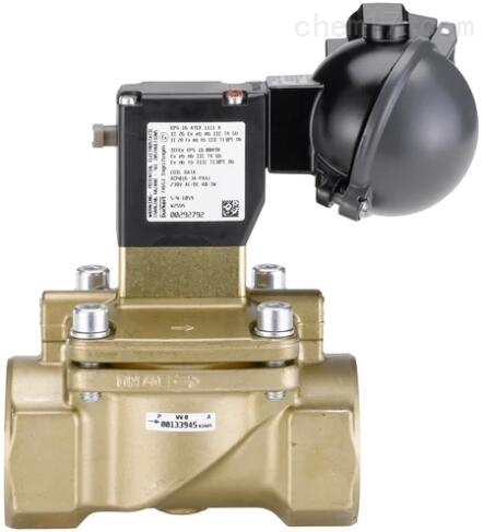 BURKERT伺服式隔膜电磁阀5282类型原装进口