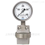 适用于非高粘度或不易结晶的差压力表Wika